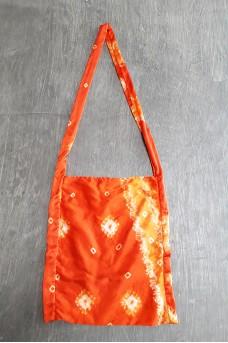 Tote Silk Bag Long Handle