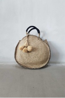 Natural Bag wt Tassel