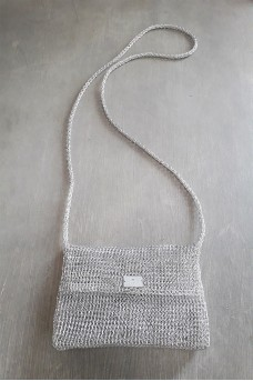 Metalic Clutch Silver