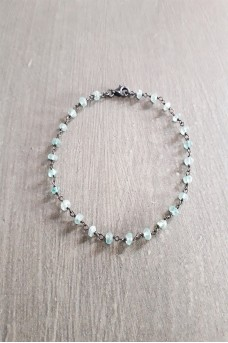 Bracelet Stone Silver