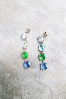 Glass Earring Small