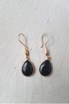 Gold Plated Stone Earrings 9