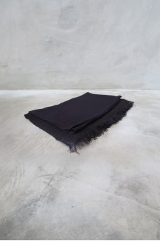 Scarf Black Navy
