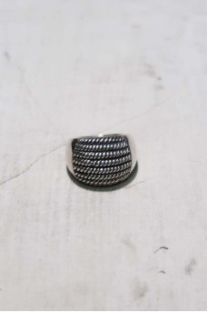 Half Spiral Ring No Polish