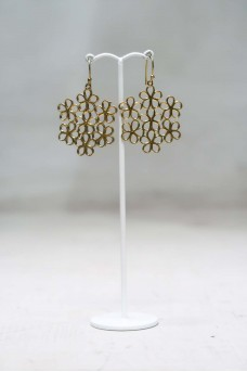 Many Flower Earing Gold