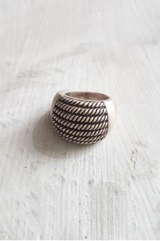 Half Spiral Ring Polish