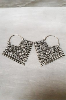 Antique Earring Silver