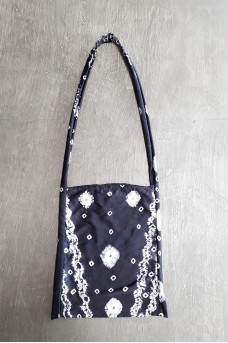 Tote Silk Bag Long Handle