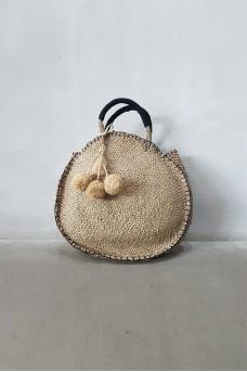 Natural Bag wt Tassel