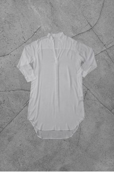 Beach Shirt Dress in Rayon Voil