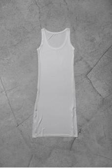 Gorgeous You Midi Singlet Dress in Viscose