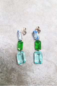 Glass Earring Big