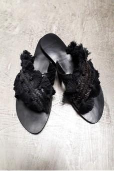 Sandal Rattan Tassel