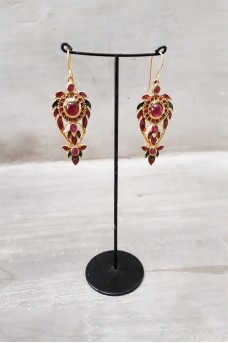 Silver Earring in Gold Plated #3