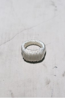 Chainy Silver Ring