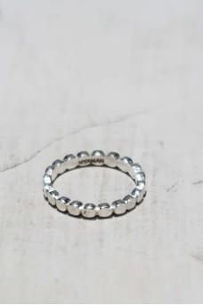 Dot Ring Shiny Silver