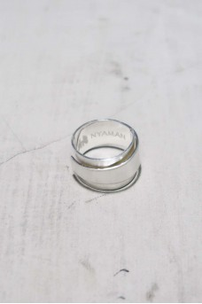 Silver Ring Double Side