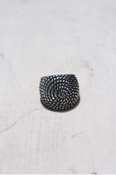 Spiral Ring With Polish
