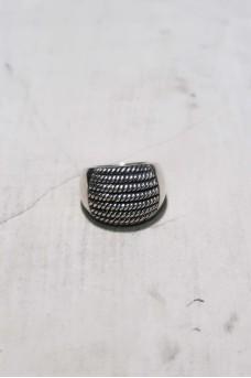 Half Spiral Ring No Polish