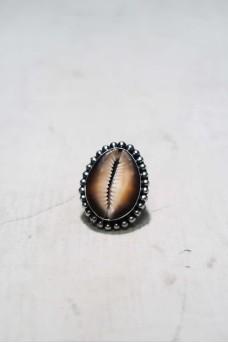 Big Shell Dot Ring