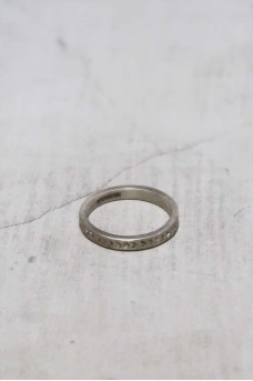 Sign Ring Dop Silver